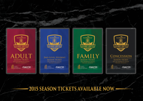 2015 Season Ticket Advert