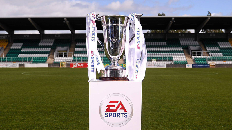 EA Sports Cup trophy