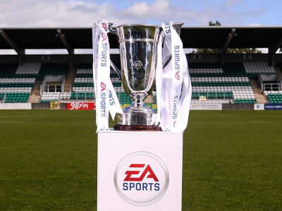 EA Sports Cup trophy