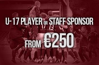 u19 player or staff sponsor