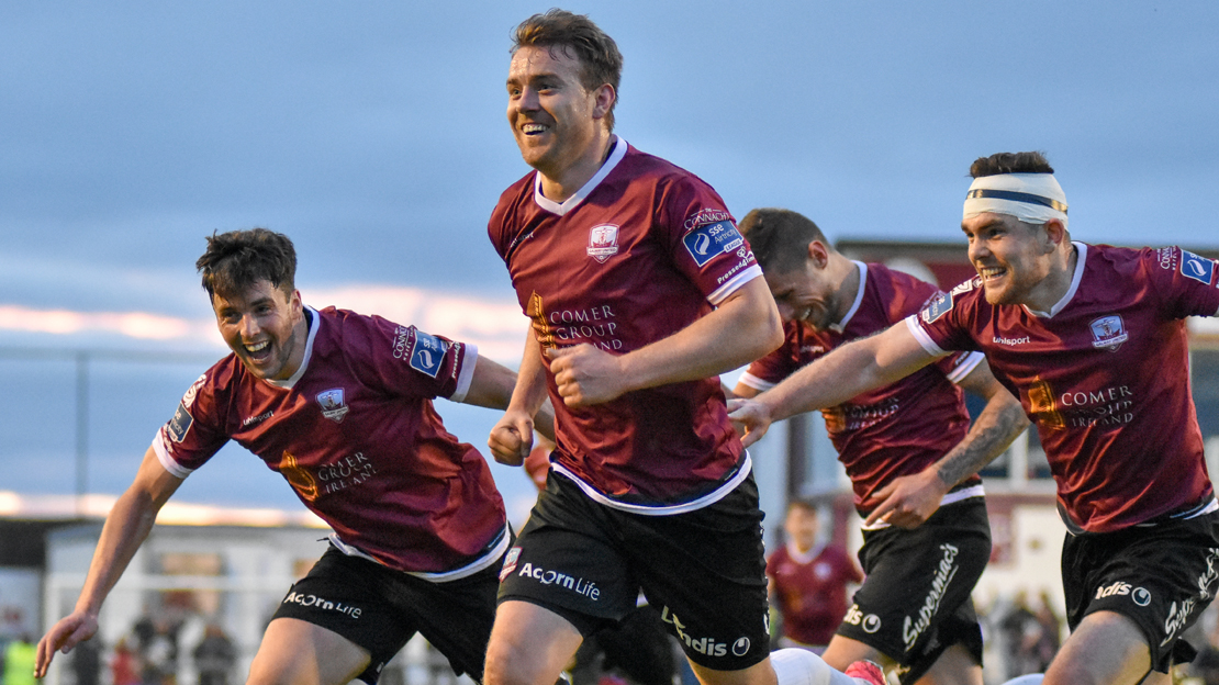 19/5/2017 Galway United v Finn Harps. Vinny Faherty (Galway United). Photo: Sean Ryan | sportsphoto.ie