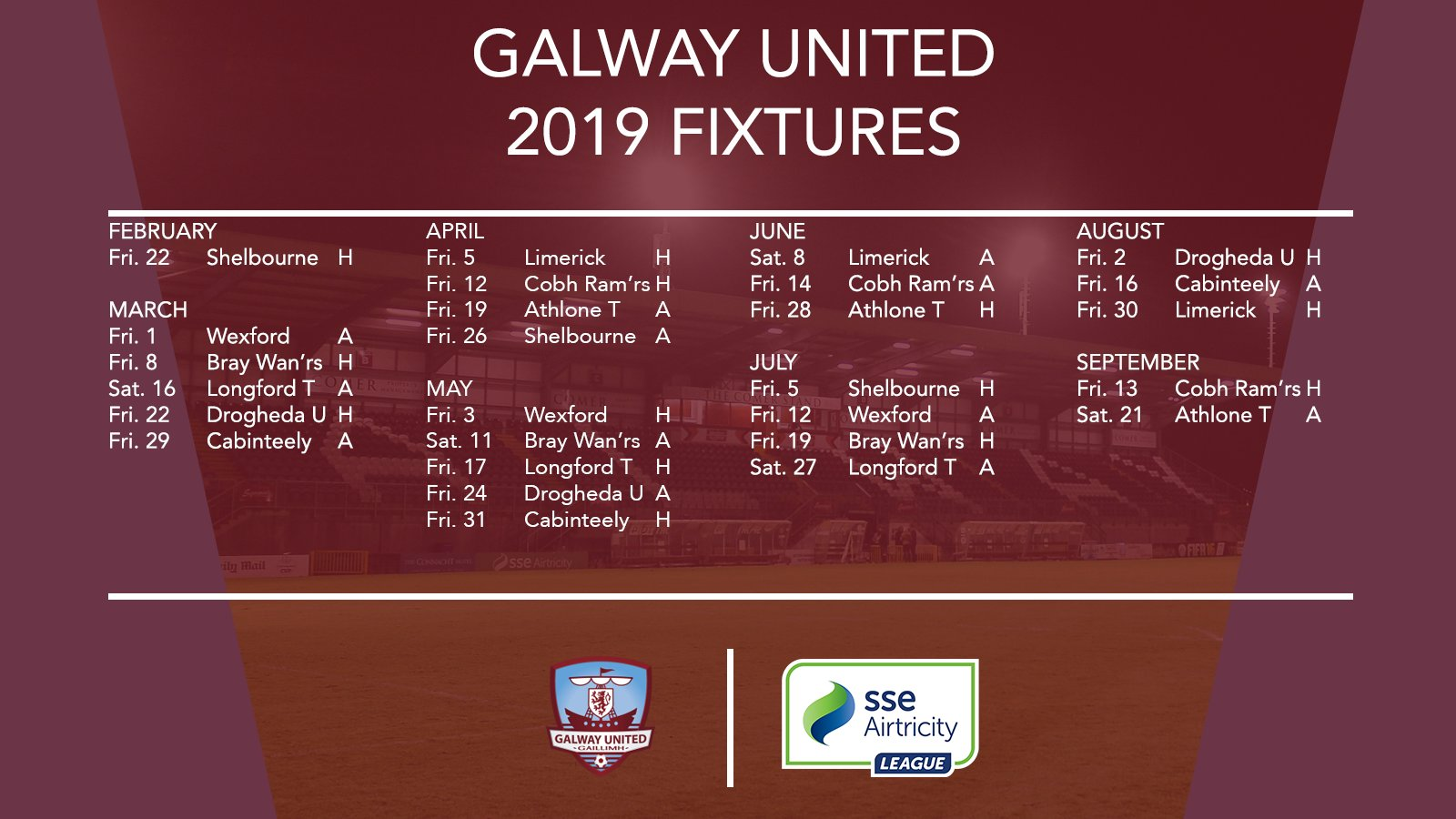 Image result for galway united 2019