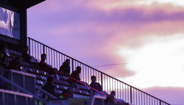 Twilight in Eamonn Deacy Park
