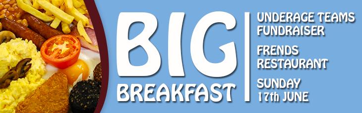 galway united big breakfast fundraiser