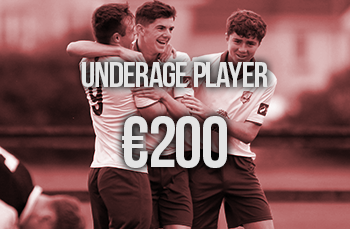 u19 player or staff sponsor