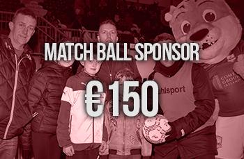 match ball sponsor